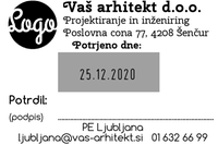 Printer 55 Datirka - 60x40 mm