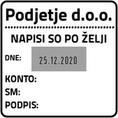 Printer Q 43 Datirka - 43x43 mm